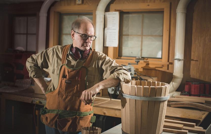 cooperage, Adirondack barrel maker, U.S. Barrel, whiskey barrels