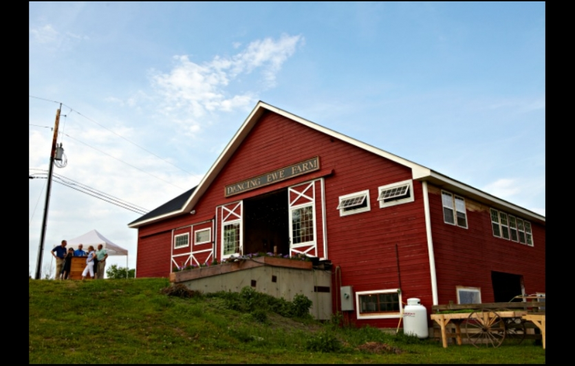 Dancing Ewe Farm, offering farmstead cheeses and farm-to-table dinner parties.
