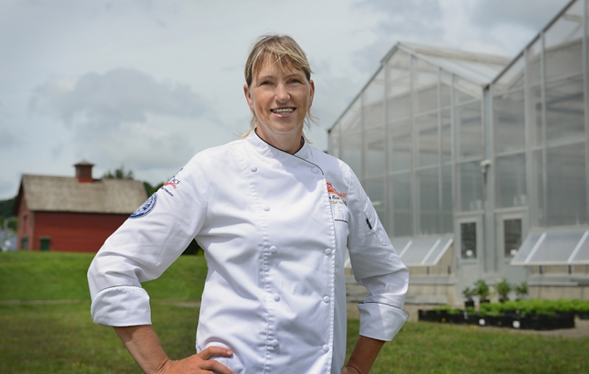 A certified executive pastry chef, JoAnne Cloughly is chair of SUNY Cobleskill's Agricultural Business and Food Management program