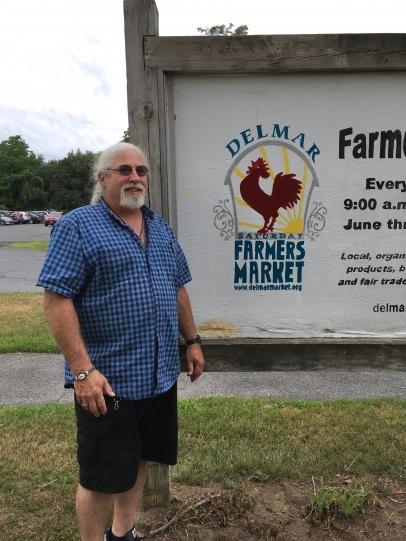 Ken Myer of the Delmar Farmers Market