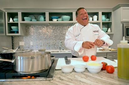 Mazzone Hospitality is built upon a few core ideas, including laughter, fun and pride. Angelo exudes these principles.