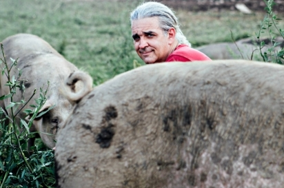 Since 1999, Mike Yezzi has raised, pampered and primped porkers on his 140-acre Flying Pigs Farm.