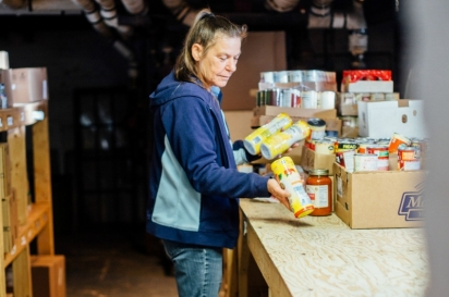 More than 80,000 people—including 23,000 babies and children—in our region are food insecure, which means they lack access or resources to provide healthy food on a consistent basis.
